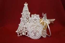 Haft ręczny Imaszynowy wTarnobrzegu – haftowane ozdoby świąteczne